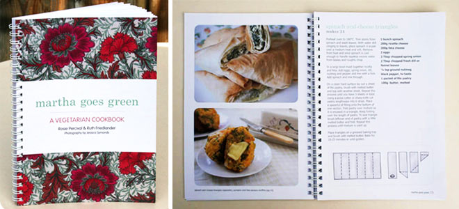 Martha goes green: a vegetarian cookbook