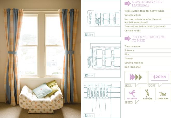 homemade curtain ideas
