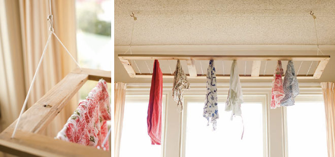 The Pulley Rack Your Rainy Day Or Gardenless Clothes