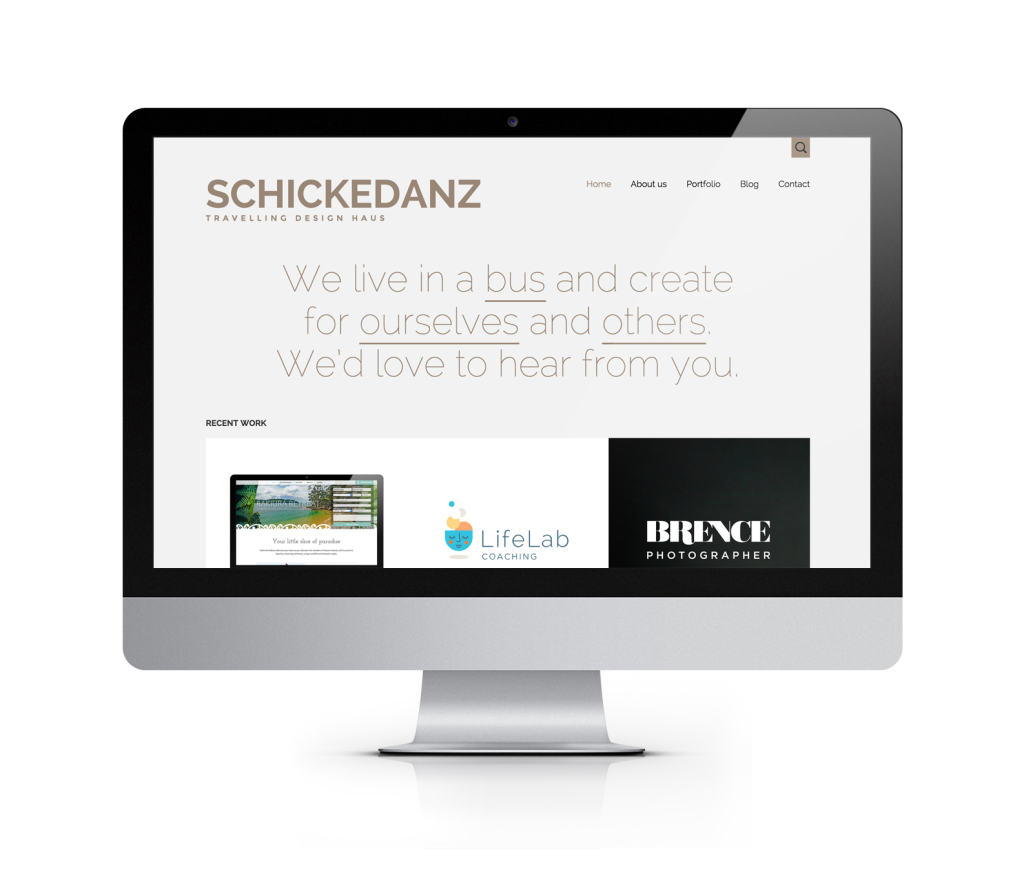 The new Schickedanz Design site!